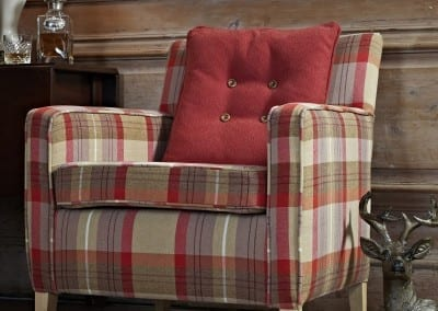 HIGHLANDS - Armchair - Red